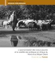 L'autonomisation des ruraux pauvres et la volatilité des politiques en ...