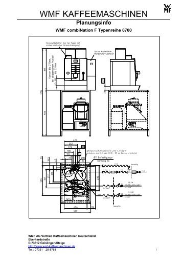 combiNation F Planungsinfo - WMF