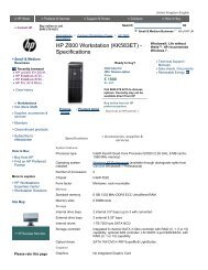 HP Z400 Workstation (KK547ET) - Specifications - Added Dimension