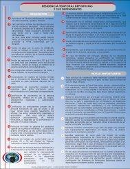Residencia Temporal Deportista - Dirección General de Migración y ...