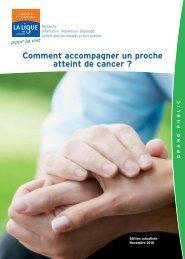 Comment accompagner un proche atteint de cancer ? (novembre ...