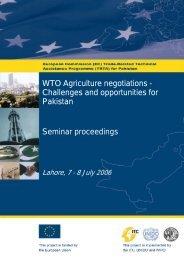 Regional Trading Agreements & Implications for ... - ec-trta pakistan