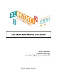 Don't wait for a miracle. Make one! - VBO
