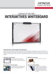 INTERAKTIVES WHITEBOARD