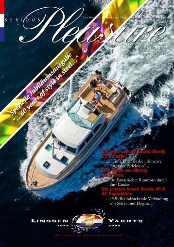60 years of style in steel... - Linssen Yachts