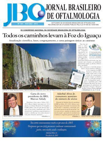 Baixe aqui a versão em PDF do JBO - Sociedade Brasileira de ...