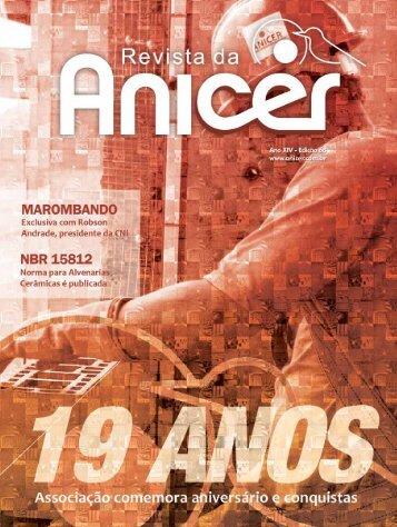 Faça o download do pdf da Revista 68 aqui - Anicer