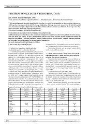 vyšetření funkce jater v pediatrii (4. část) - Pediatrie pro praxi