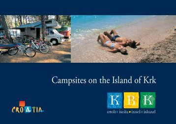 Campsites on the Island of Krk