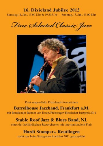 Fine Selected Classic Jazz - Ludwigsburger Kultursommer & in der