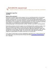 Veelgestelde vragen Bao - Kennisportal Europese aanbesteding