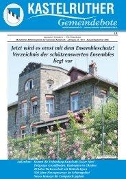 Kastelruther Gemeindebote - August/September 2006 (1,5 Mb)