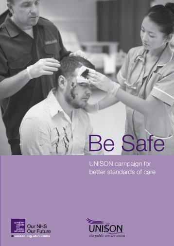 UNISON campaign for better standards of care