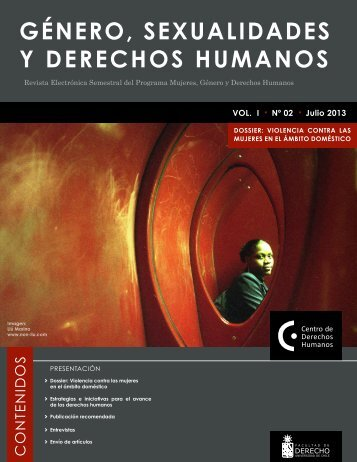 Revista electrónica Género, Sexualidades y Derechos Humanos