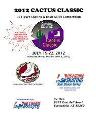 US Figure Skating & Basic Skills Competition JULY 19-22, 2012