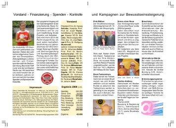 Spenden - Kontrolle - Krebshilfe Oberösterreich