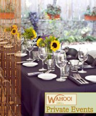 Private Events - The Reynolds Group