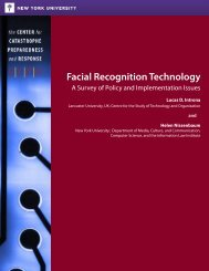 Facial Recognition Technology - New York University