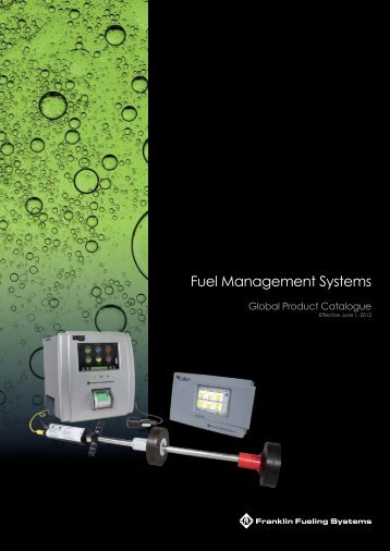 Fuel Management Systems Submersible Pumping ... - UPP Systems