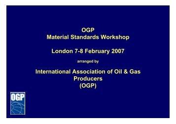 Agenda - OGP activities home