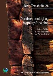 Dendrokronologi og bygningsforskning - NIKU