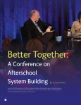 Better Together: Building Local Systems to Improve Afterschool (A ... - Page 6