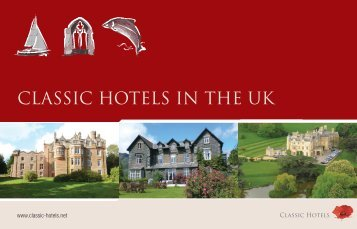 CLASSIC HOTELS IN THE UK - Friars Carse Hotel