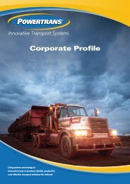 Corporate Profile - Powertrans