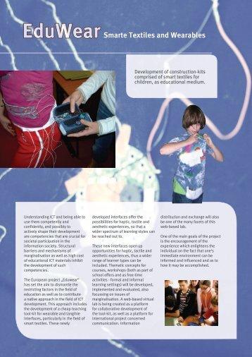 EduWearSmarte Textiles and Wearables - DiMeB