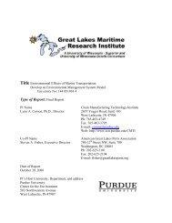 Environmental Effects of Marine Transportation - Great Lakes ...