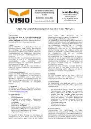 SoWi-Holding - VISIO-Tirol