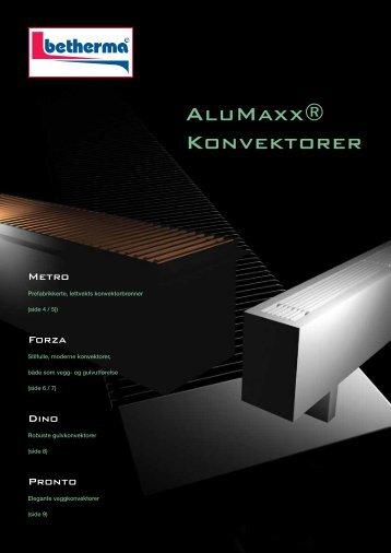 AluMaxx® Konvektorer