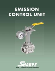 EMISSION CONTROL UNIT - Sharpe® Valves