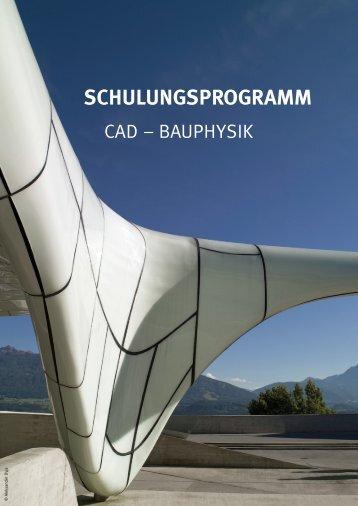 Schulungsprogramm als .pdf - A-NULL Bausoftware GmbH