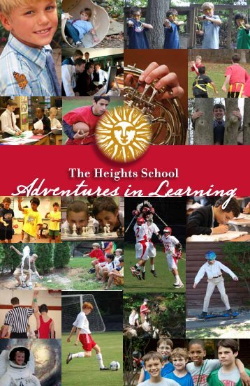 View Camp Brochure - The Heights School
