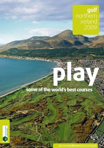 golf northern ireland 2009