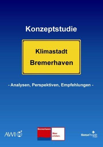 Klimastadt Bremerhaven - Analysen, Perspektiven