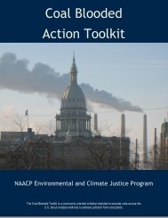 Coal Blooded Action Toolkit - Climate Access