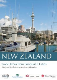 New Zealand – Good Ideas from Successful ... - Cities of Migration