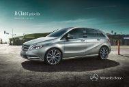 B-Class Price List June 2013.pdf - Mercedes-Benz