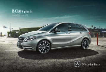 B-Class Price List June 2013.pdf - Mercedes-Benz