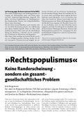 Broschüre - Rechtspopulismus stoppen - Blogsport - Seite 5