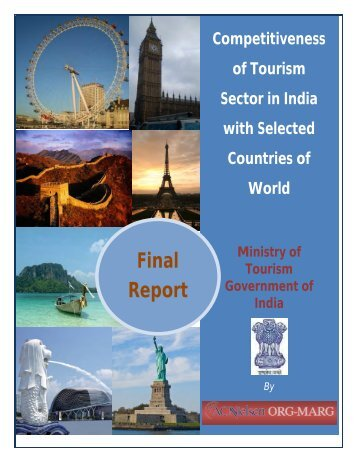 Competitiveness of Tourism Sector in India with selected Countries ...
