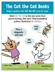 The Cat the Cat Books - HarperCollins Children's Books