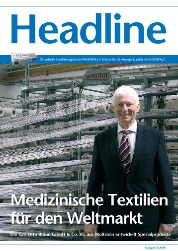 Rolf Dolle, Personalleiter bei der Karl Otto Braun GmbH ... - Rheinpfalz