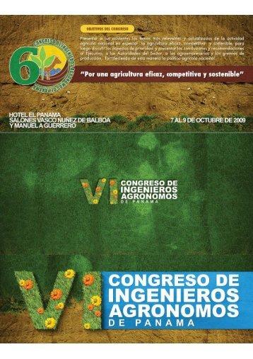 VI Congreso de Ingenieros Agronomos CINAP - colegio de ...