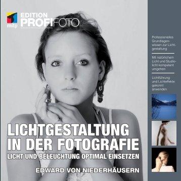 edward von niederhäusern lichtgestaltung in der fotografie ... - Mitp