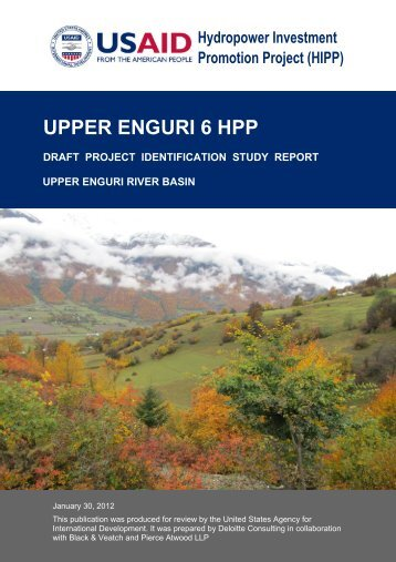 enguri 6 hpp project identification study - Hydropower Investment ...