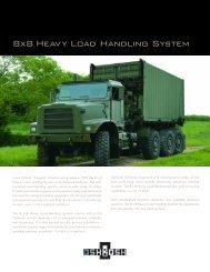 8x8 Heavy Load Handling System