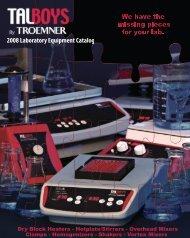 Troemner Talboys - Lasalle Scientific Inc.